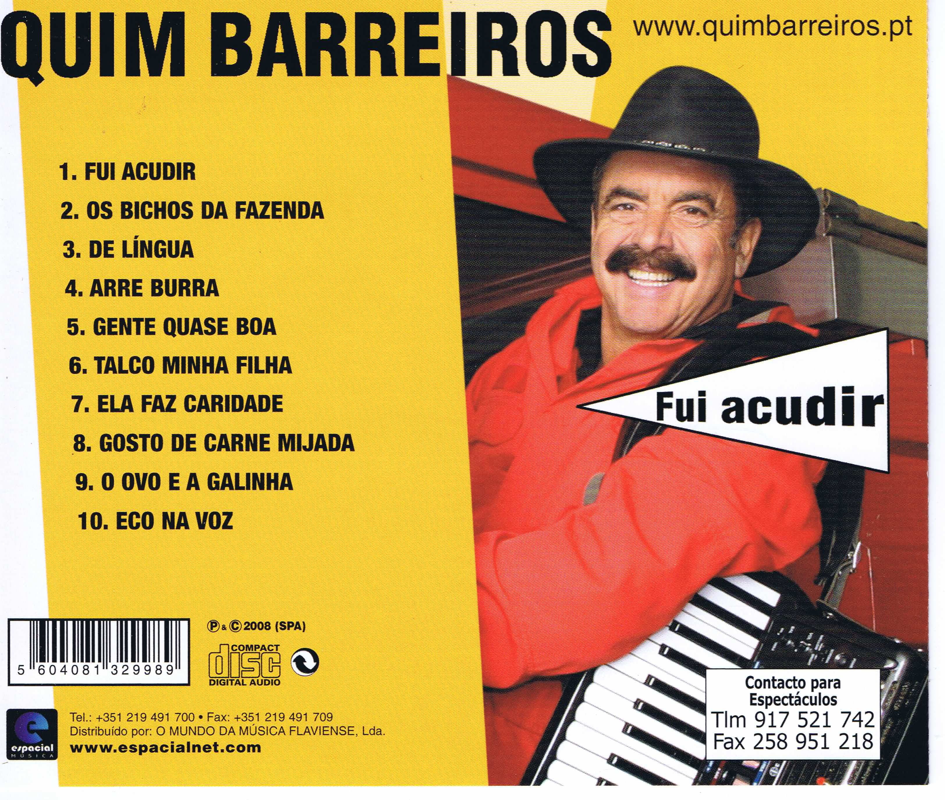 QUIM 2013 BAIXAR BARREIROS CD